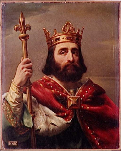 Ce roi, sacré par le pape, était aussi le protecteur attitré de la ville sainte de Rome. Grâce à cette autorité il parvient à fonder la puissante dynastie des Carolingiens.