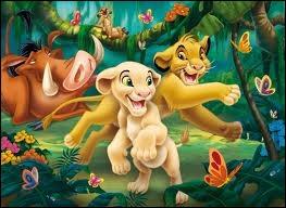 Comment s'appelle la copine de Simba ?