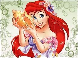 Quelle est la couleur de la queue d'Ariel ?