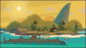 Comment s'appelle l'île où se déroule la première saison ?