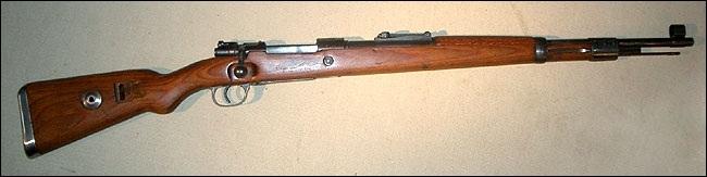 Quel est ce fusil standard de la Wehrmacht ?