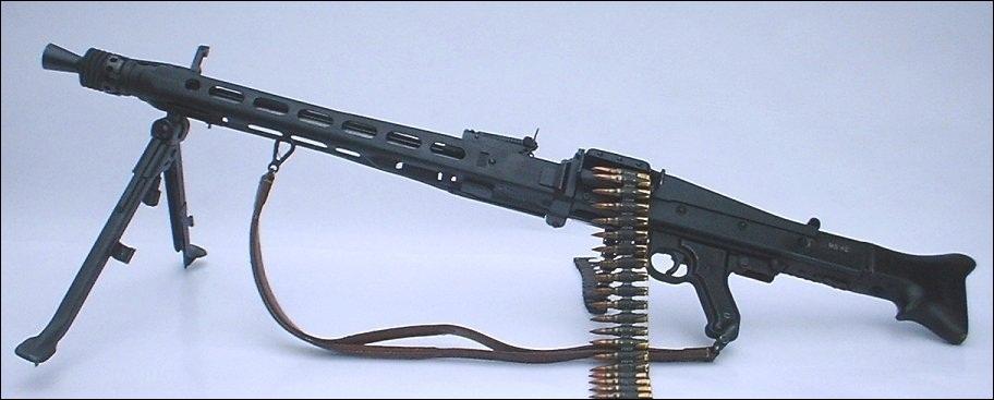 Cette arme ravageuse a été utilisée par bon nombre de soldats allemands. Quelle est-elle ?