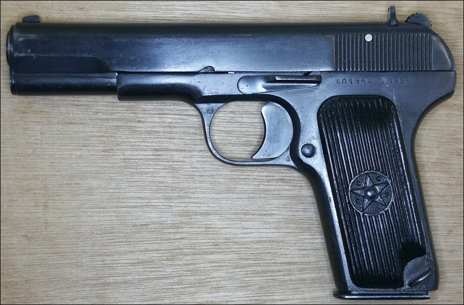 L'Armée rouge a adopté ce pistolet. Quelle est la marque ?