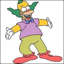 Quel est le vrai nom de Krusty le clown ?