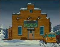 Dans le film en Alaska quel est le nom du bar ?