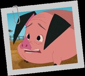 La ferme se rebelle - Quel est ce petit cochon vivant à la ferme ?