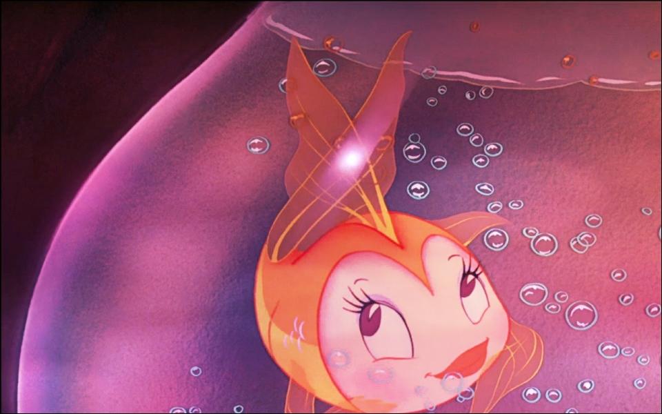 Pinnochio - Quel est ce joli petit poisson qui accompagne Geppetto même dans l'estomac de Monstruo la baleine ?