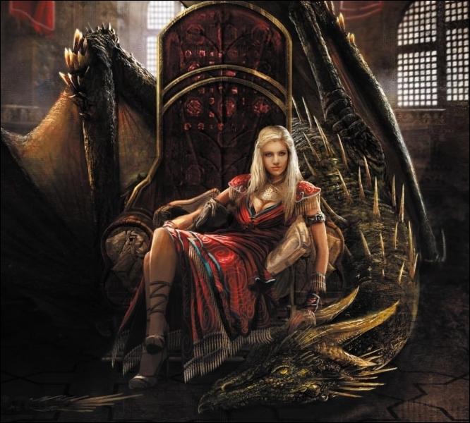 Enfin une série qui pète le feu, Stark, Lannister, Targaryen, Tyrell, Baratheon, ils rêvent tous de poser leurs fesses sur l'objet en question !