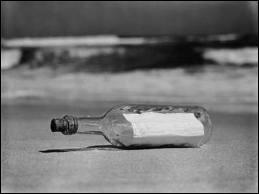 Jolie bouteille sacrée bouteille, veux-tu me laisser tranquille ?   :