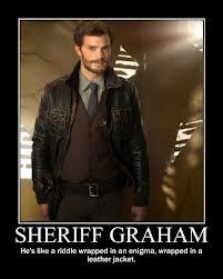 À cause de quel personnage Graham, le shérif est-il mort ?