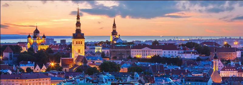 De quel pays Tallinn est-elle la capitale ?