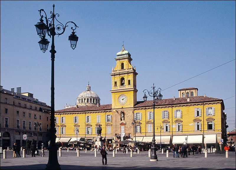 Dans quelle région italienne se situe la ville de Parme ?