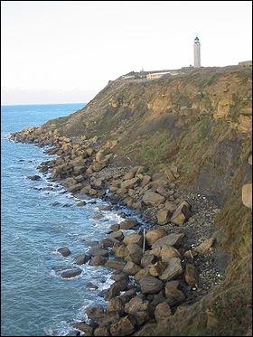 Quel cap constitue le point du littoral français le plus proche de l'Angleterre ?
