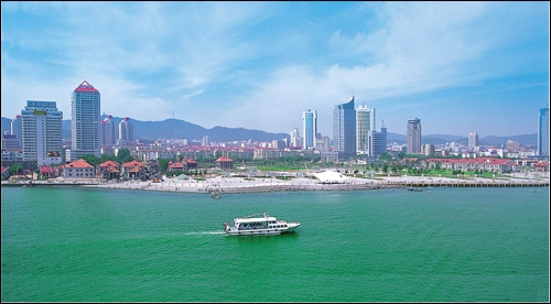 Entre quels pays s'étend la mer Jaune ?