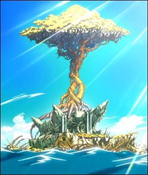 Comment s'appelle le dragon qui attaque l'île ?