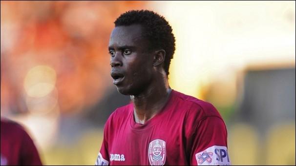Comment s'appelle cet attaquant sénégalais ?