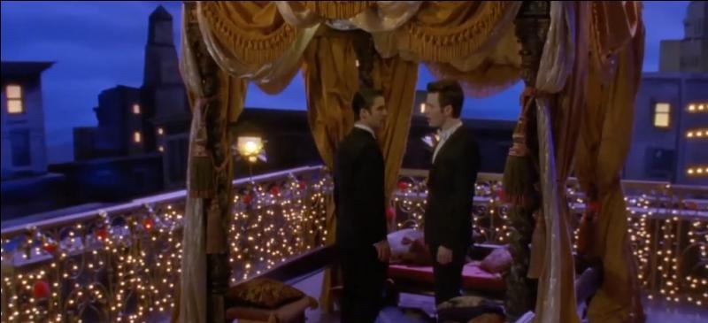 Saison 4 épisode 15 - Que chante Kurt et Blaine pour la semaine cinéma ?