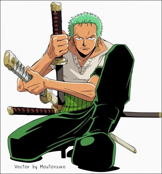 Je suis un manieur de sabre, je veux devenir le meilleur et je déteste le cuistot. Qui suis-je ?