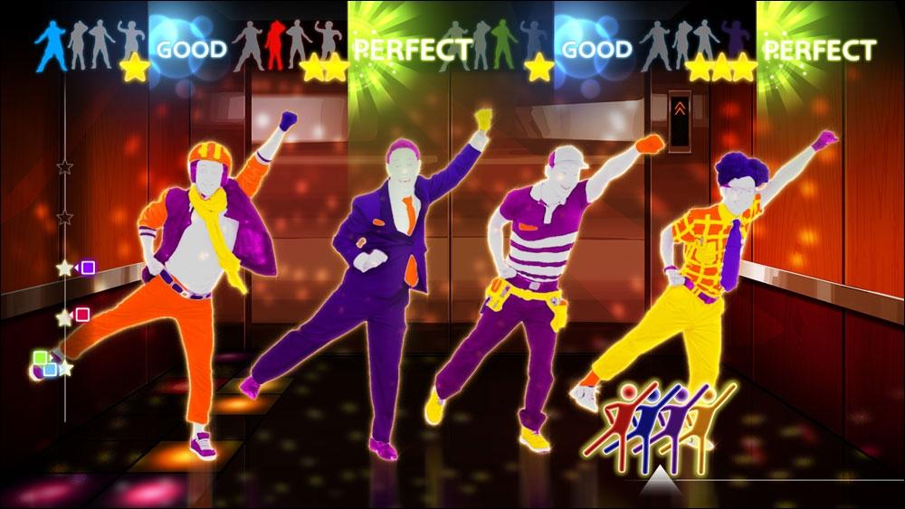 Dans quel jeu de danse peut-on voir cette image ?