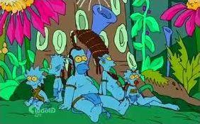 Quand les Simpson fréquentent les stars !