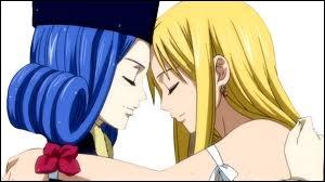 Comment est appelé l'amour entre Lucy et Jubia/Juvia ?