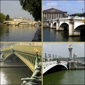 Lequel de ces ponts de Paris est le plus ancien ?