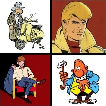 Parmi ces héros de BD, lequel n'est pas détective ?