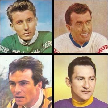 Un de ces quatre champions cyclistes français n'a jamais été champion du monde sur route... .