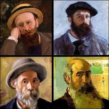 Lequel de ces peintres impressionnistes est décédé avant 1900 ?