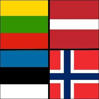 Parmi ces pays, lequel n'est pas considéré comme un pays balte ?