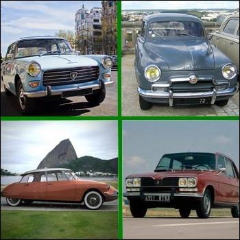 Quel modèle automobile français fut présenté au salon de l'auto de Paris en 1955 ?