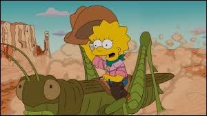 Que se met à manger Lisa après qu'elle se soit évanouie lors d'un solo de saxophone ?