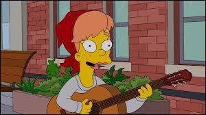 Comment s'appelle la petite copine de Bart ?