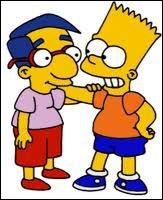 Et que cherche Milhouse et Bart ?
