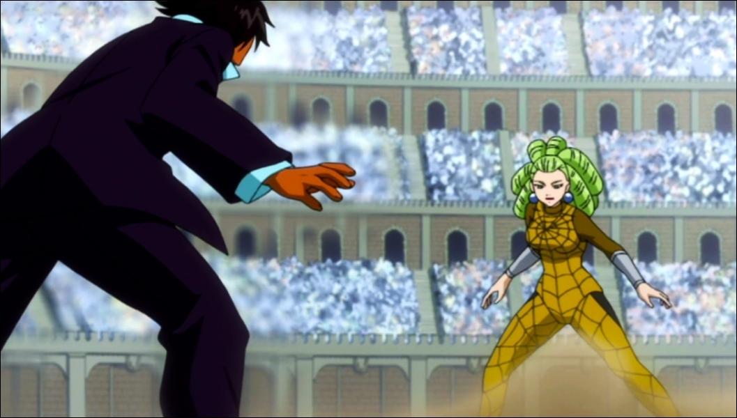 Lors du deuxième combat, qui s'affronte ?