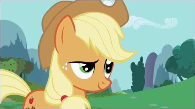 Comment s'appelle le poney qui ramasse des pommes ?