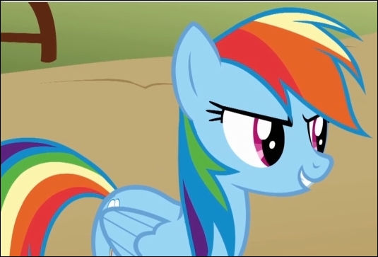 Comment s'appelle le poney arc-en-ciel ?