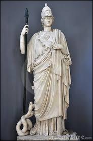 Qui est la déesse de la sagesse et de la stratégie guerrière ?
