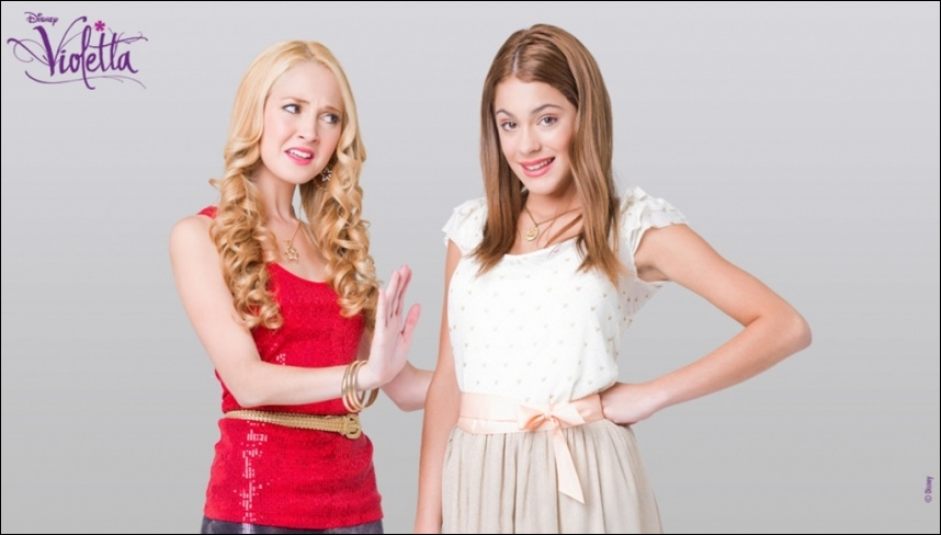 Qui sont les meilleure amies de Violetta ?