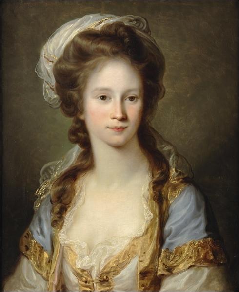 Portrait d'une lady.