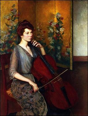 La violoncelliste.