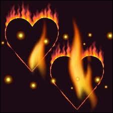 Il suffira d'une étincelle et d'un mot d'amour pour allumer le feu ...
