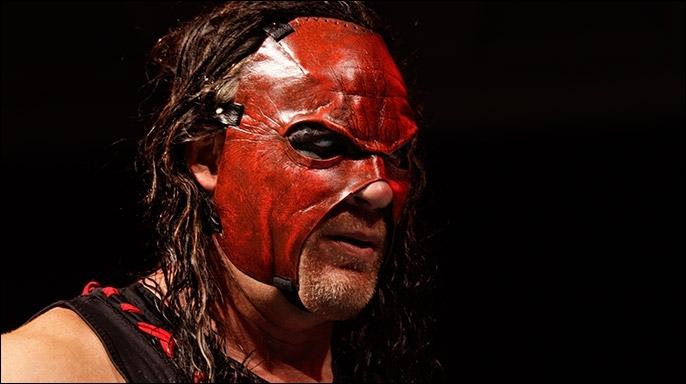 Aujourd'hui, le catcheur le plus grand est Kane.