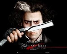 Si on n'a pas aimé   Sweeney Todd  (Le Diabolique Barbier de Fleet Street) avec Johnny Depp, que peut-on dire par dépit à propos de ce film ?