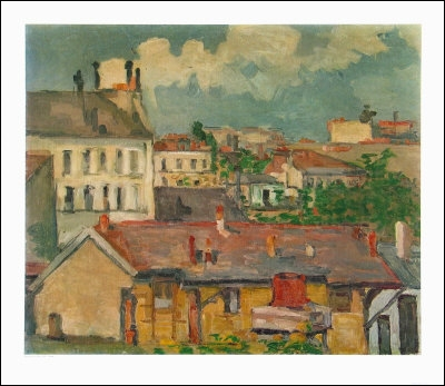 Qui a peint Faubourg au printemps ?