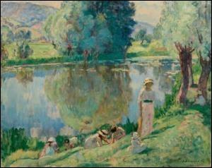 Qui a peint Matinée de printemps aux Andelys ?