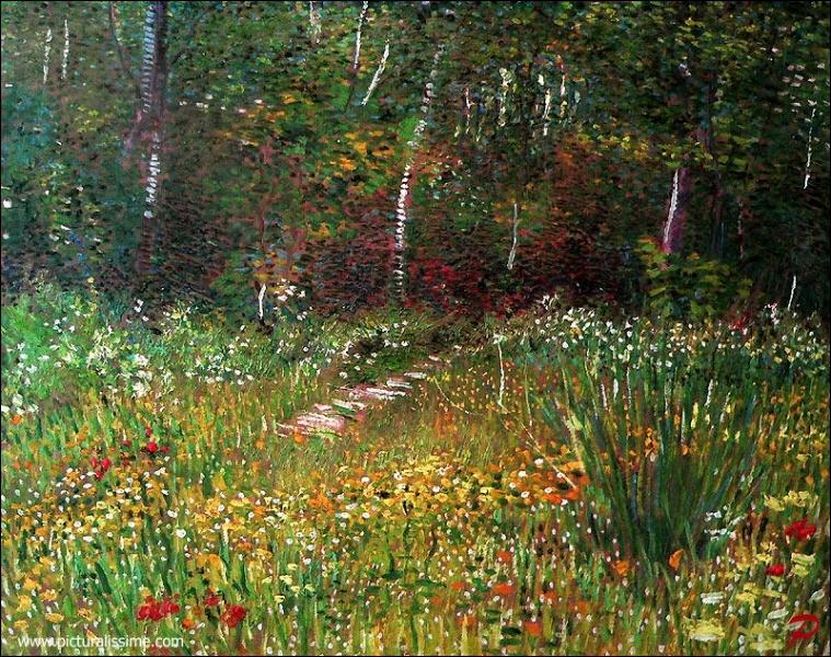 Qui a peint Parc à Asnières au printemps ?