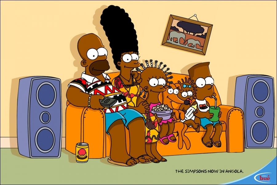Moi, Homer, maman et Lisa, nous sommes allés dans ce pays. Il n'y avait même pas d'hamburgers, mais nous sommes vite repartis. C'était ...