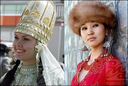 Une jeune fille Tatar, à gauche, et une demoiselle du Kirghizistan, à droite. Quelle est la capitale du Kirghizistan ?