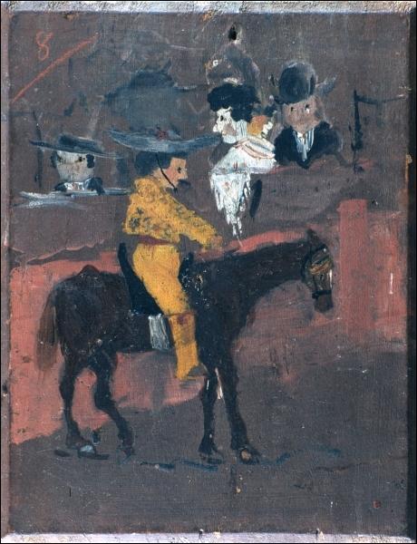 Quel peintre, âgé alors de 8 ans, a peint  Le petit picador  ?